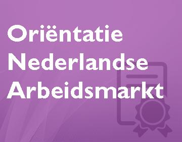 Oriëntatie Nederlandse arbeidsmarkt